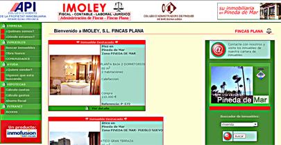 Испанский сайт на котором размещаются предложения о продаже недвижимости в Испании
